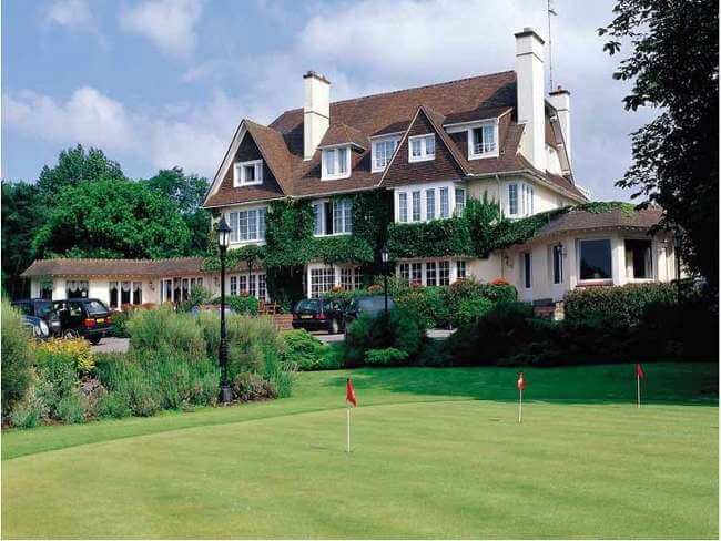 golf holidays in the best golf hotels hotel le manoir