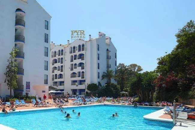 Golf Holidays Spain Costa Del Sol Pyr Marbella Hotel