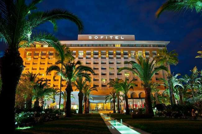Luxury golf holidays and golf breaks in rabat hotel for Jardin oudaya rabat