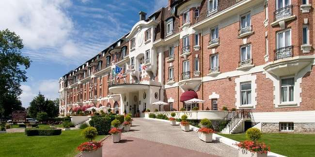 Golf holiday hotel barriere le westminster golf breaks le for Hotels le touquet