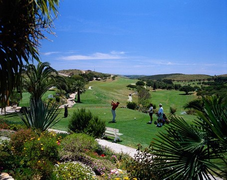 Golfing holiday Parque da Floresta Golf Course 9th and 18th