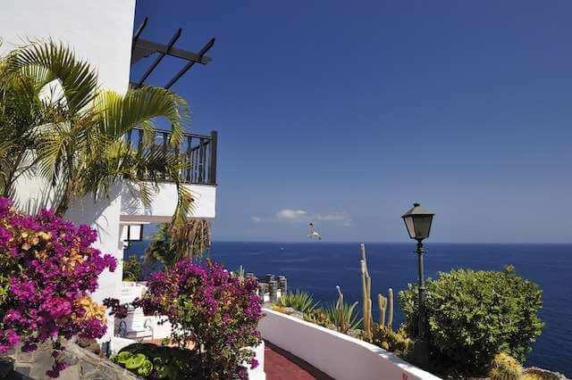Golf holiday tenerife hotel jardin tecina la gomera for La gomera hotel jardin tecina