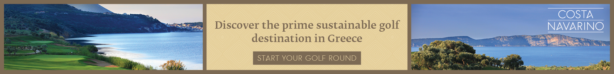 Discover the prime sustainable golf destination in greece