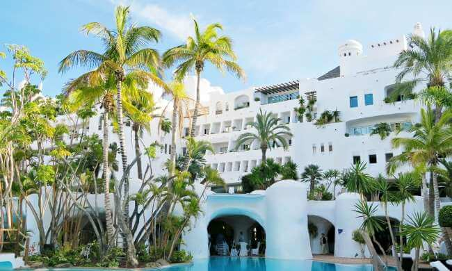 Luxury golf holidays Spain at the Hotel Jardin Tropical