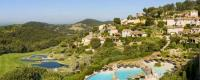 Golfing holidays Dolce Fregate Provence Hotel Garden view of hotel
