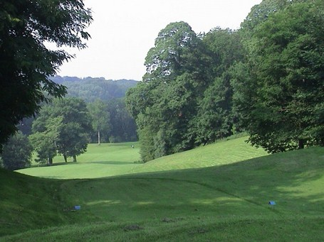 Golfing Breaks Chateau de la Bawette Golf Course tree lined fairways