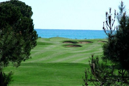 Golfing holidays Tat International Golf Coursedistant ocean view