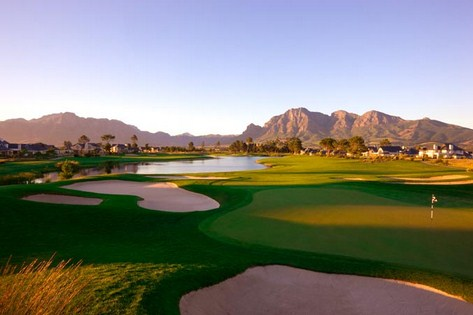 Golfing holiday Pearl Valley Golf Course